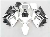 1998-2002 Yamaha YZF R6 Black/White Fairings | NY69802-29