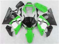 1998-2002 Yamaha YZF R6 Hybrid Green Fairings | NY69802-3