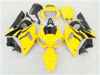 1998-2002 Yamaha YZF R6 Yellow Flames Fairings | NY69802-33