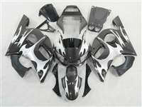 1998-2002 Yamaha YZF R6 Silver Tribal Fairings | NY69802-37