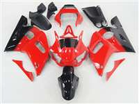 1998-2002 Yamaha YZF R6 Black/Red Fairings | NY69802-48