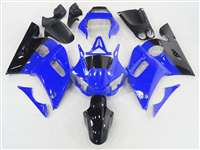 1998-2002 Yamaha YZF R6 Black/Blue Fairings | NY69802-49