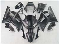1998-2002 Yamaha YZF R6 Matte Black Motorcycle Fairings | NY69802-8
