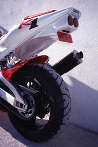 Yamaha Yzf R1 1998 1999 Stock Light Undertail Black
