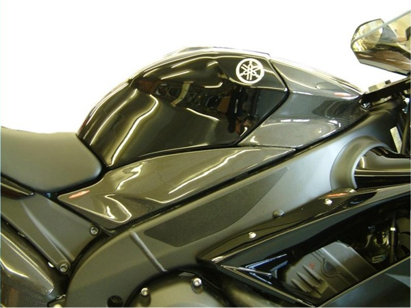 Yamaha Yzf R1 2007 2008 Side Panel Upper Pair Real