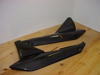 Suzuki Bandit GSF1250 (07-2011) Side Panels Carbon Fiber