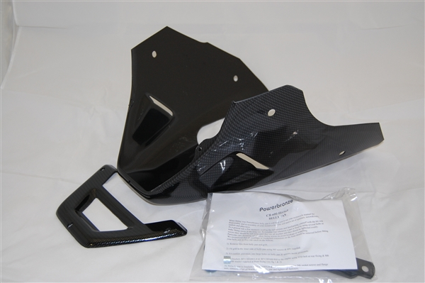 Honda Grom Price >> Honda 599 / Hornet 600 Belly Pan (1998-2006) Carbon Fiber Look