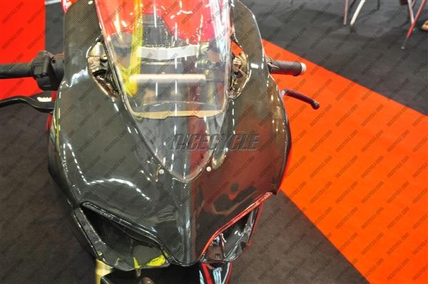 Ducati 1199 Panigale 100 Carbon Fiber Upper Fairing