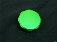 GREEN FRONT BRAKE RESERVOIR CAP