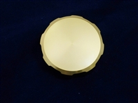 GOLD FRONT BRAKE RESERVOIR CAP