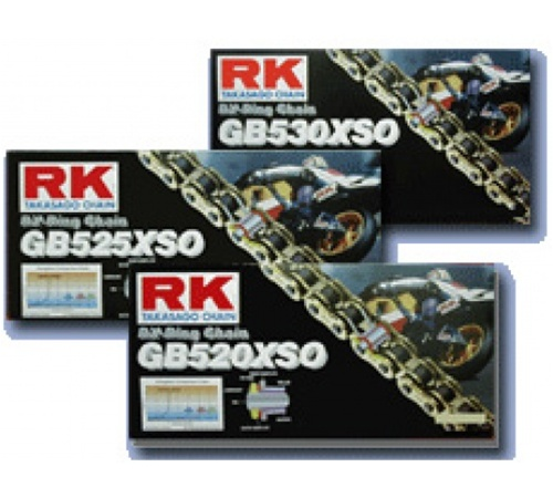 RK Chain RKGB520XSO-120 Gold Pro RX-Ring 520 Pitch 120 Link Chain
