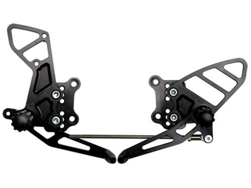 Vortex Rear Set Black For Suzuki