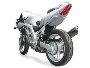 Hotbodies SUZUKI SV1000S (03) SV650S (03-05) Undertail w/ built in LED Signal lights - Candy Grand Blue