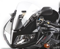 Hotbodies SUZUKI SV650/1000 (03-09) SS Windscreen (Stock Height)- Clear