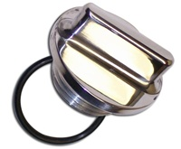 Polished Suzuki Oil Cap (product code# S101)
