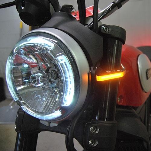 Turn Signal Relay >> Ducati Scrambler LED Front Turn Signals