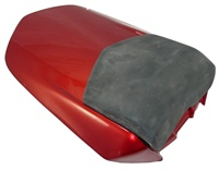 SOLO SEAT FOR YAMAHA R1 (04-06), DEEP RED METALLIC K SOLO SEAT (product code: SOLOY400R)