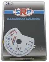 HONDA CBR600RR 07-08 REVERSE-HISS STYLE ILLUMIGLOW FACE GAUGE (Product Code # SRP0810)
