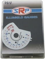 HONDA CBR600RR 07-08 HALO-HISS STYLE ILLUMIGLOW FACE GAUGE (Product Code # SRP0814)