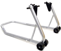 Rear Motorcycle Stand, Silver (product code: ST605S)