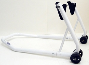 Rear Motorcycle Stand, White (product code: ST605W)