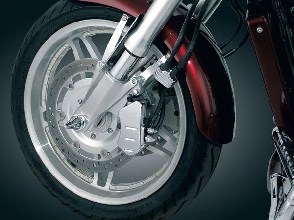 Honda Vtx1800 Chrome Front Caliper Covers By Kuryakyn
