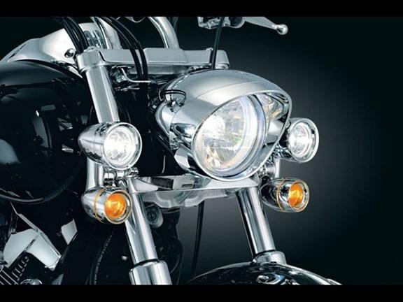 Kawasaki Vulcan 900 Custom Constellation Driving Lights W