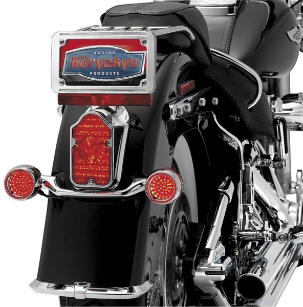 Harley Davidson Led Tombstone Tail Light Conversions By