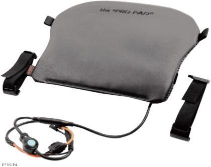 Pro Pad Motorcycle Heated Leather Gel Seat Pad Large