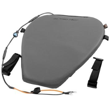Pro Pad Motorcycle Heated Leather Gel Seat Pad Super Cruiser 17 W X 16 L