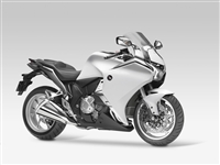 Glossy White Honda VFR 1200 Motorcycle Fairings