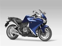 Deep Blue Honda VFR 1200 Motorcycle Fairings