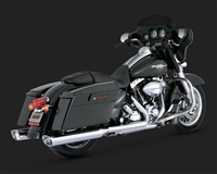 Harley Touring Chrome Monster Ovals Exhaust