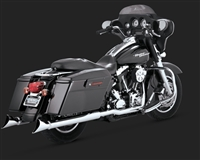 Harley Touring Chrome Dresser Duals Exhaust