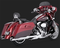 Harley Touring  Monster Round Catalytic Exhaust