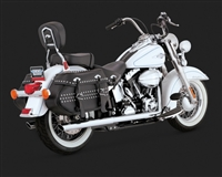 Harley Softail Chrome Softail Duals Exhaust
