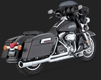Harley Touring '09 Chrome Pro Pipe Exhaust