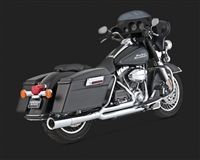 Harley Touring '99-'08 Chrome Pro Pipe Exhaust
