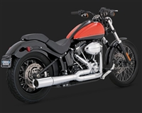 Harley Softail Chrome Pro Pipe Exhaust