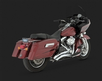 Harley Touring '07-'08 Big Radius 2-Into-2 Exhaust