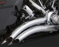 Harley Touring '99-'06 Big Radius 2-Into-2 Exhaust