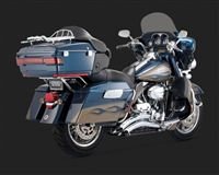 Harley Touring Chrome Big Radius 2-Into-2 Exhaust