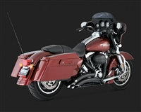 Harley Touring '09 Big Radius 2-Into-2 Exhaust
