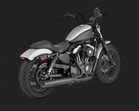 Harley Sportster '04-'13 Blackout 2-Into-1 Exhaust