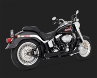 Harley Softail Competition Series 2-Into-1 Exhaust