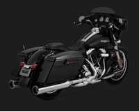 Harley Touring Chrome Oversized Raider 450 Exhaust