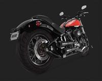 Harley Softail Hi-Output Grenades 2-Into-2 Exhaust