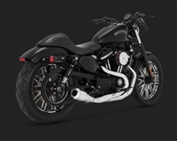 Harley Sportster Chrome 2-Into-1 Upsweep Exhaust