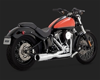 Harley Softail Hi-Output 2-Into-1 Short Exhaust