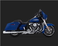 Harley Touring 'Chrome Power Duals Exhaust